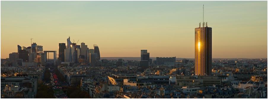 FRANCE 2013 - La Défence vanaf Arc de Triomphe