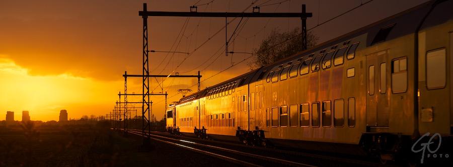 HOLLAND 2012 - Nijkerk, Spoorlijn