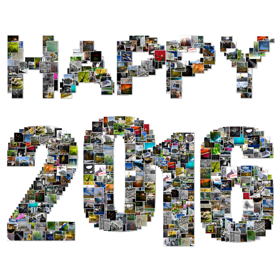 Happy-2016-fotocollage
