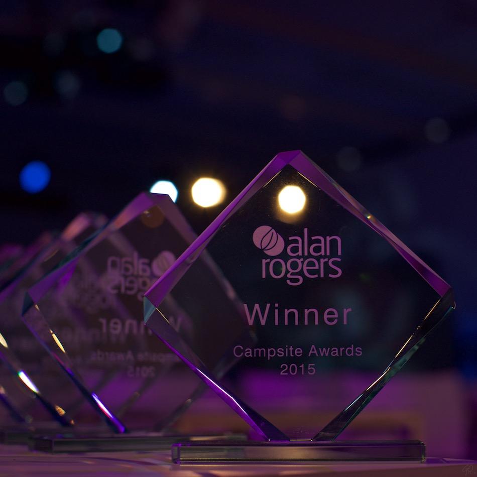 Alan Rogers camping awards