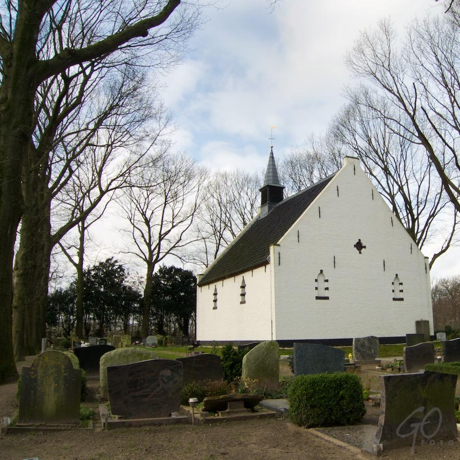Kapel van Coelhorst Hoogland-West achteraanzicht.