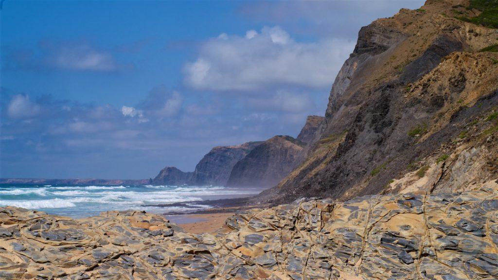 Woorden van geluk. Zuid-westkust van Portugal.