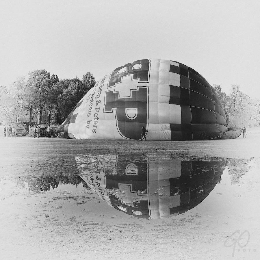 Cursus Storytelling - ballon met spiegeling